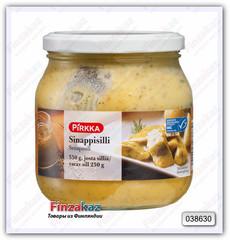 Сельдь Pirkka Sinappisilli (в горчичном соусе) 550/250 гр