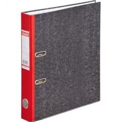 Папка с арочн.мех.BANTEX мрамор 1426-09, 50мм, красный