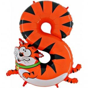 Шары цифры Фольгированная цифра 8 кот shop_items_catalog_image3446.jpg