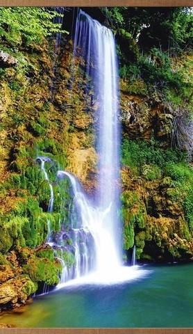 Электрообогреватель настенный «Домашний очаг» Водопад