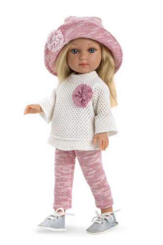 Кукла Arias Elegance девочка в шляпке 36 см
