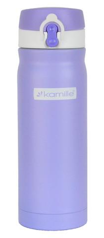 Термос-кружка Kamille 450 мл. фиолетовый