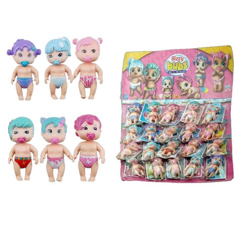 Коллекция игрушек на блистере Пупсы 1кор*1бл*20шт