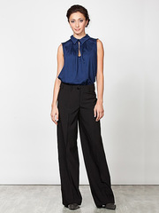 BR118-9 брюки женские, черные