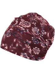 HB15044-4 шапка женская, бордовая