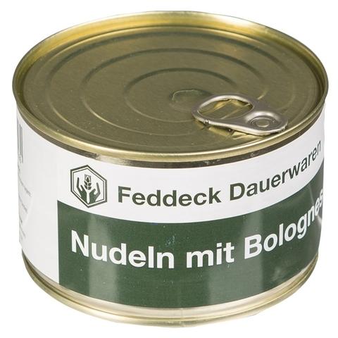 Vollkonserve Dose Nudeln mit Bolognese-Sauce 400g