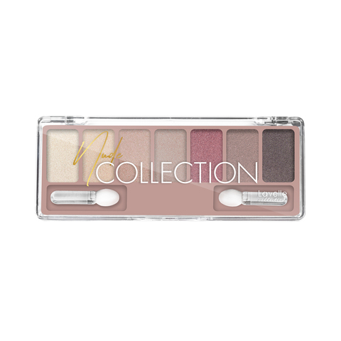 LavelleCollection Тени для век NUDE collection  ES-30 тон 02 классический нюд c шиммером