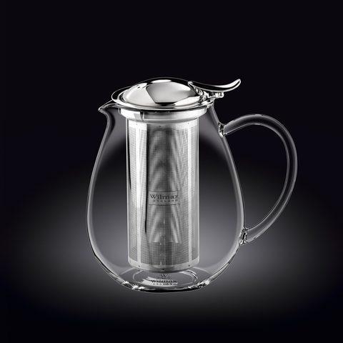 Заварочный чайник с ситечком Wilmax Thermo Glass 1300 мл (WL-888803)