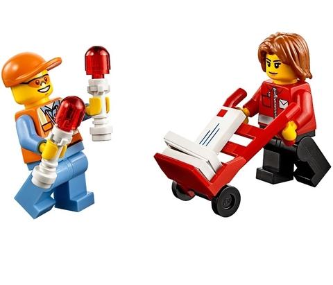 LEGO City: Набор «Аэропорт» для начинающих 60100 — Airport Starter Set — Лего Сити Город