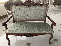 Двухместное кресло 20901 (MK-1355-NM) Итальянский орех