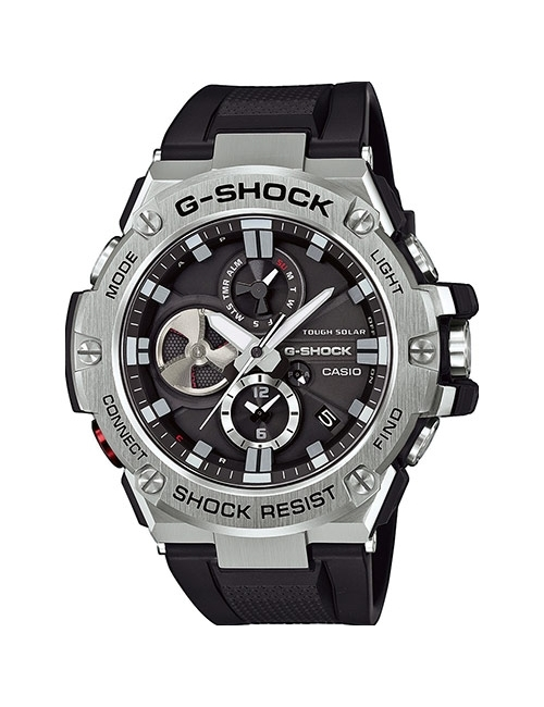 Часы мужские Casio GST-B100-1AER G-Shock G-Steel