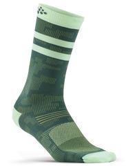Элитные беговые Носки Craft Pattern Green
