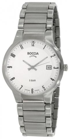 Купить Мужские наручные часы Boccia Titanium 3576-02 по доступной цене