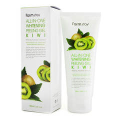 Farmstay All-In-One Whitening Peeling Gel Kiwi - Пилинг-гель для лица с экстрактом киви