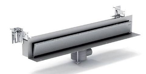 Пристенный дренажный канал с накладкой из нержавеющей стали Mepa TersoWALL (700 мм) 150390