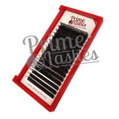 Ресницы Prime Lashes темно-коричневые , микс 16 линий