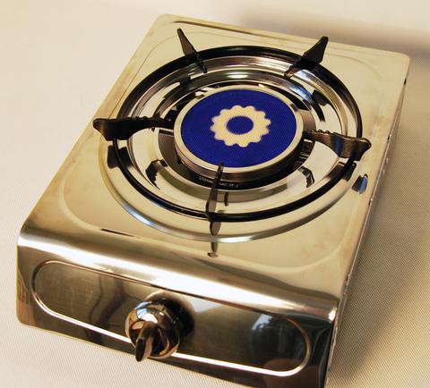 Плитка газовая одноконфорочная с керамическим рассекателем, Wolmex KGS-2,5R1