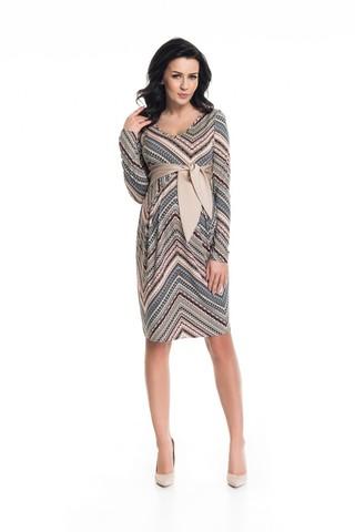 Платье 09051 узорный
