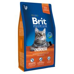 Brit NEW Premium Cat Indoor курица и печень для кошек домашнего содержания