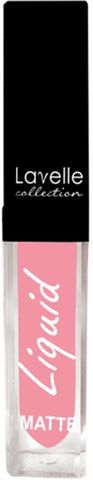 Лавелль жидкая матовая помада LS-10 тон 04 нежно-розовый 5мл