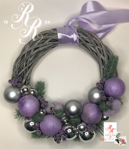 Рождественский венок 15