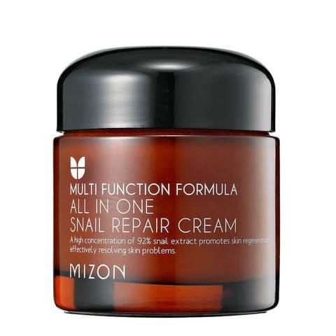 Mizon Крем для лица с 92% экстрактом улитки для проблемной кожи 75г