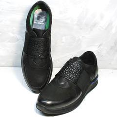 Кроссовки для повседневной носки мужские Luciano Bellini 1087 All Black