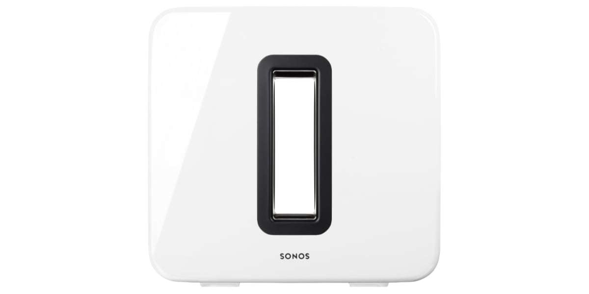 Сабвуфер SONOS Sub Gloss (White) вид спереди