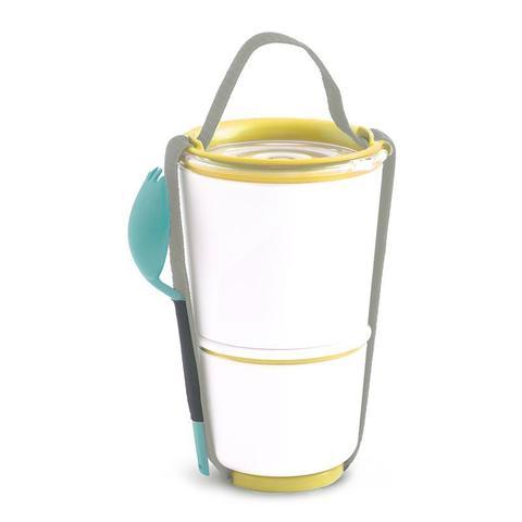Ланч бокс для первого и второго Lunch Pot, желтый