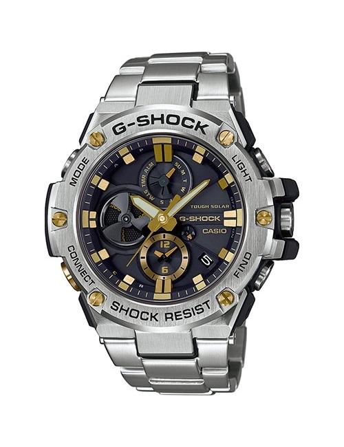 Часы мужские Casio GST-B100D-1A9ER G-Shock G-Steel