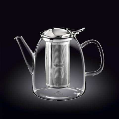 Чайник заварочный 1450 мл Thermo Wilmax Нержавеющий фильтр (WL-888809)