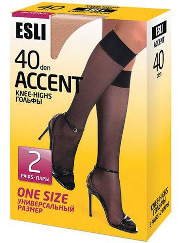 Гольфы Accent 40 New (2 пары) Esli