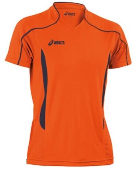 Мужская волейбольная футболка Asics T-shirt Volo (T604Z1 6950) оранжевая