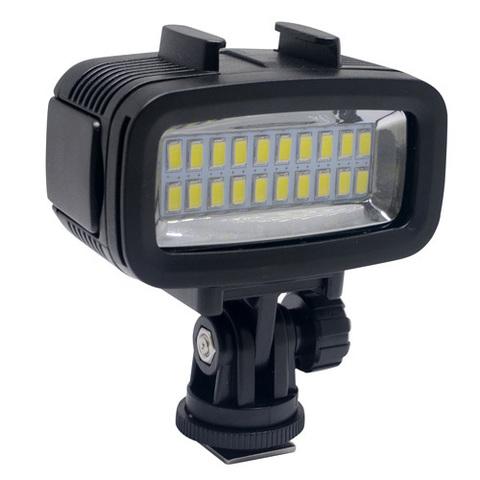 Видеосвет для подводной съемки (подводный фонарь) Waterproof video Light S
