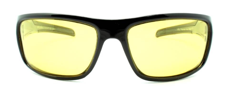 Очки поляризационные для рыбаков туристов водителей LORIS DZP220008-C1 желтые 89%