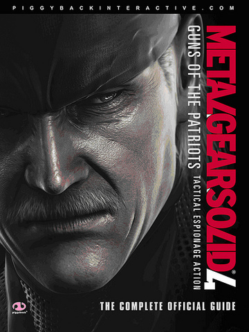 Metal Gear Solid 4: Guns of the Patriots, Tactical Espionage Action, The Complete Official Guide