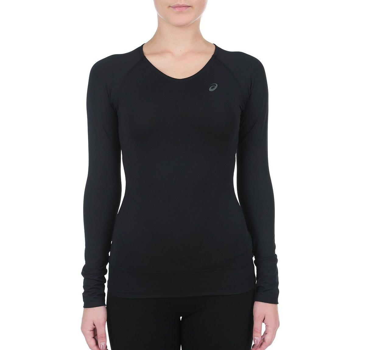 Женская футболка с длинным рукавом Asics Long Sleeve Tee (124668 0904) фото