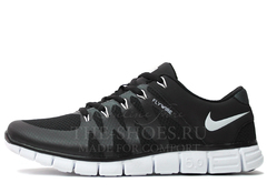 Кроссовки Мужские Nike Free Run 5.0 FLYWIRE Black White