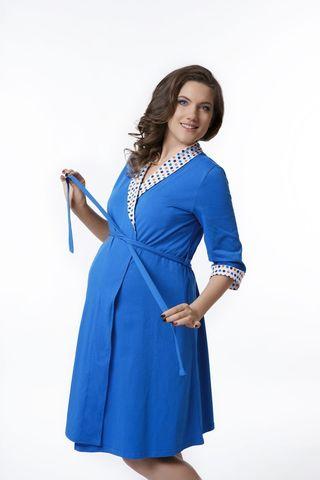 Комплект MAGICA BELLEZZA 047-048 рукав 3/4 синий