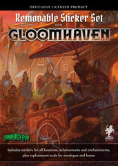 Gloomhaven. Removable Sticker set (на английском языке)