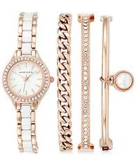 Женские наручные часы Anne Klein 1954RGST в наборе