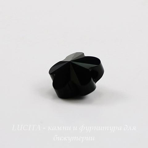 5744 Бусина в виде цветка Сваровски Jet 8 мм