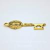 """Подвеска """"Священный ключ"""" (цвет - античное золото) 33х12 мм"""