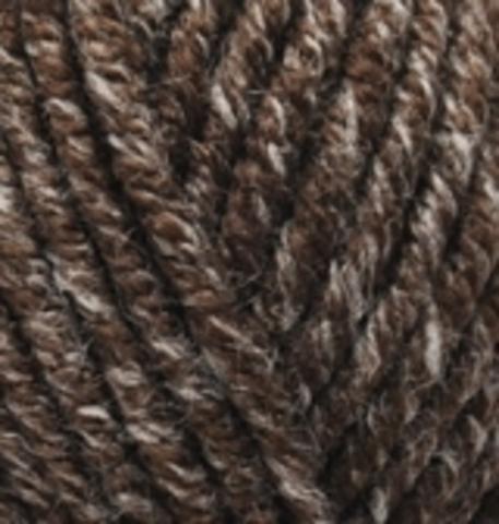 Пряжа Superlana MIDI 804 коричневый жаспе Alize