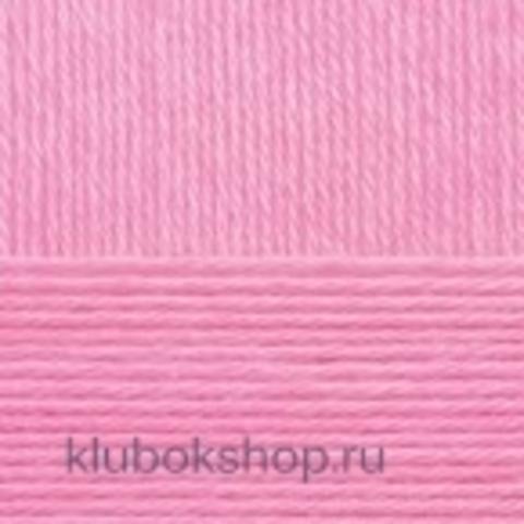 Пряжа Детская объемная (100 г/ моток) Пехорка 29 Розовая сирень - купить в интернет-магазине недорого klubokshop.ru