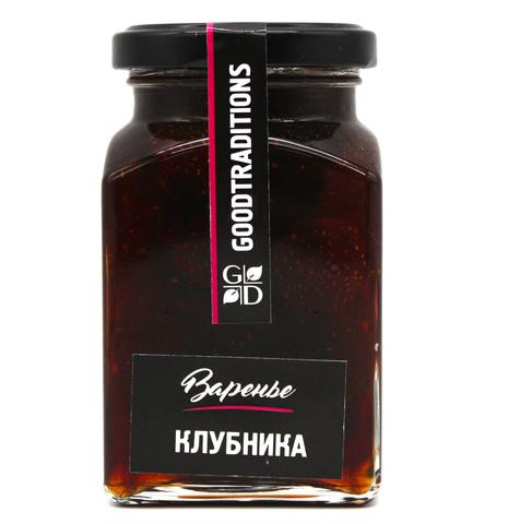 "Варенье ""Клубника"", GoodTraditions, 375 г"