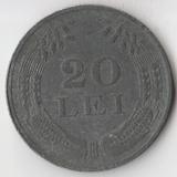 K7295, 1944, Румыния, 20 лей