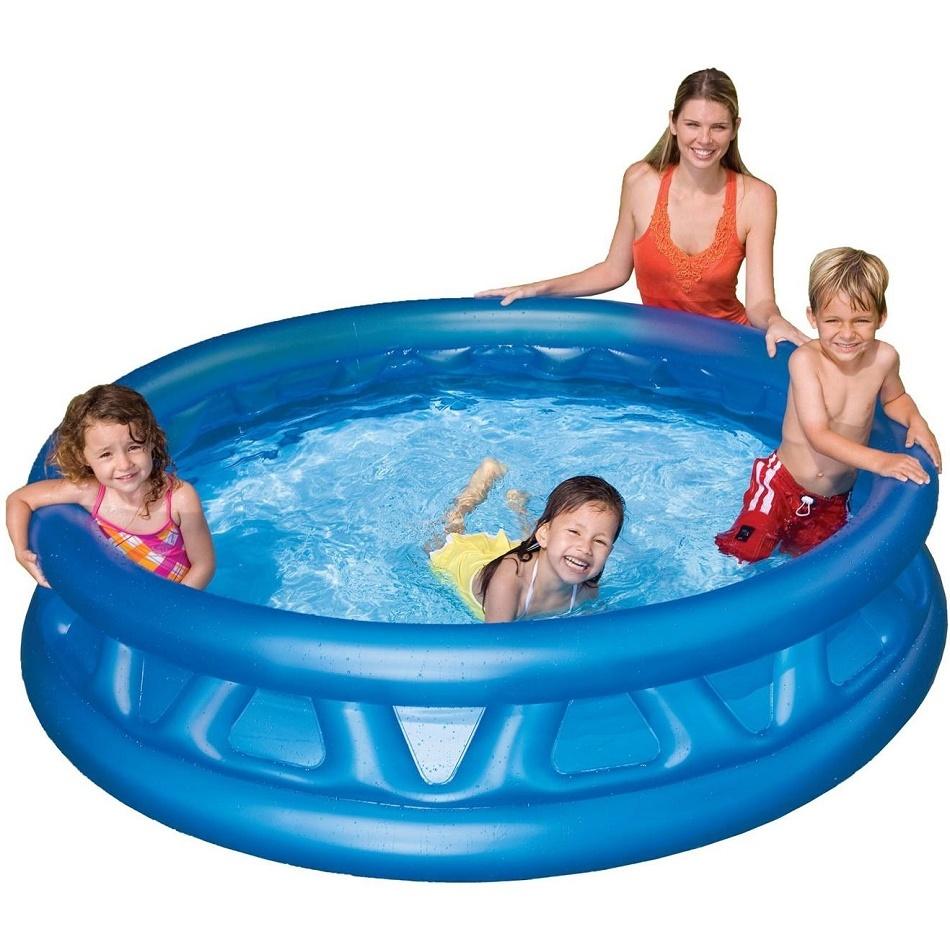 Надувной бассейн intex