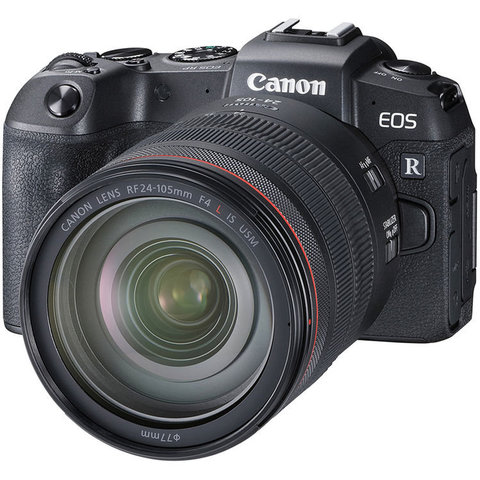 Фотоаппарат Canon EOS R Kit RF 24-105mmf/4L IS USM
