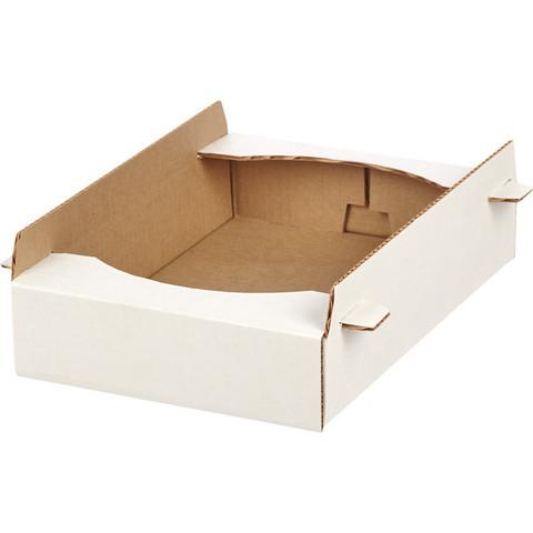 Короб картонный лоток-телевизор 350х240х65мм Т-23, 10шт/уп